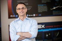 Dante Lauretta, a professor of planetary science and cosmochemistry at the University of Arizona's Lunar and Planetary Laboratory, is an expert in near-Earth asteroid formation and evolution. He leads the NASA's OSIRIS-REx Asteroid Sample Return mission. Photograph by John de Dios/UANews
