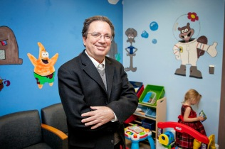 Dr. Fernando Martinez, MD, director of the Arizona Respiratory Center, is a researcher and clinician with major projects that study the determinants of asthma in early life. Martinez said he was influenced by an asthma attack his mother had when he was a child. Photograph by John de Dios/UANews